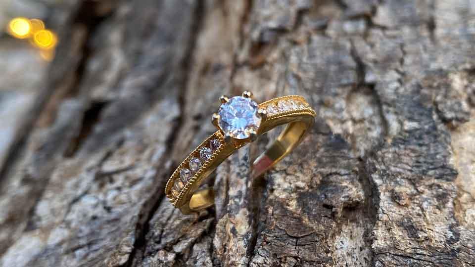 Tipos de pedras preciosas mais usadas em anéis de noivado